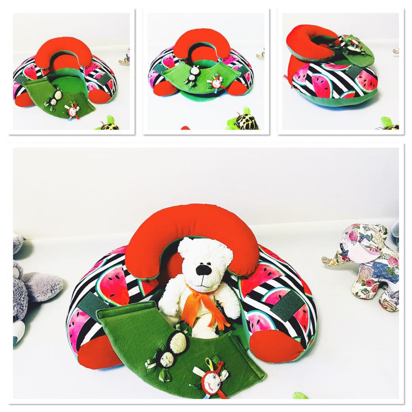 """dekoracijos   pagalvėlės   sėdėjimo/atraminė pagalvė """"arbūzas"""""""