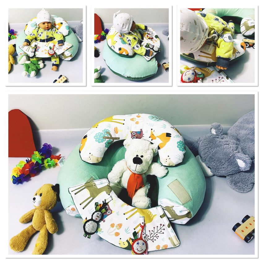 dekoracijos | pagalvėlės | sėdėjimo/atraminė pagalvė kūdikiui +6 mė