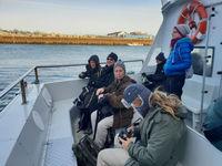 Groupe STARLING sur le bateau © Noé Terorde