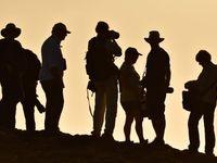 Sfeerbeeld van ons team met tegenlicht. © Yves Adams