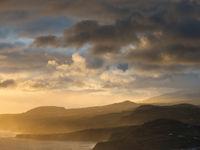 De Azoren liggen er mooi bij tijdens de zonsondergang. © Sebastian Vervenne / u-visualize