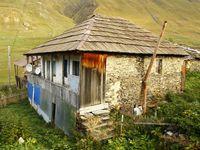Traditioneel huis in Ushguli. © Johannes Jansen