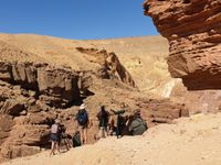 Notre groupe STARLING dans le Red Canyon