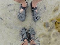 Teva's in een modderige situatie! © Ann De Grijse