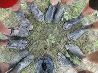 Dat zijn vuile voetjes! © Ann De Grijse