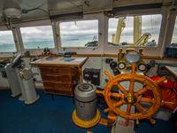 Een zicht vanop de brug in het schip. © David 'Billy' Herman