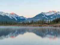 Sundance Range, een bergketen van de Canadese Rockies. © Bart Heirweg