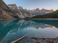 Sfeerbeeld Moraine Lake. © Bart Heirweg