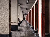 Harmonie is soms gemakkelijk te vinden in de oude gebouwen... © Thierry Vanhuysse