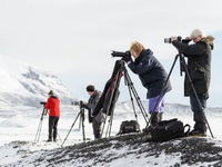 Fotografen in actie. © Bart Heirweg