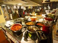 Een blik in de gezellige keuken. © Billy Herman