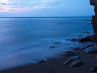 Wringcliff Bay tijdens het vallen van de avond. © Sandy Spaenhoven