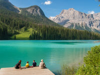Emerald Lake, Canada. © Jeffrey Van Daele