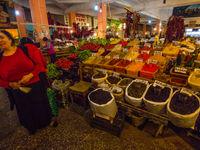 De lokale marktjes barsten van de geuren en smaken. © Billy Herman