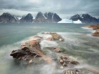 De waterwerking en het vulkanische gesteente. © Yves Adams