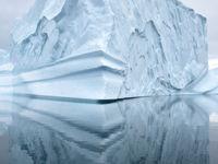 Abstractie en ijs, een gouden combinatie! © Yves Adams