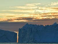 Een sfeerbeeld van een ondergaande zon. © Yves Adams