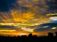Bijzondere zonsondergangen horen er ook bij. © Rudi Debruyne