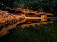 De kijkhut met laag perspectief. © Bence Máté