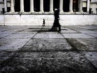 Dagelijkse passanten op straat... © Thierry Vanhuysse