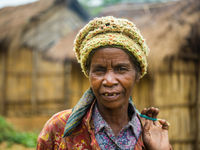 Portrait d'une habitante locale. © Billy Herman