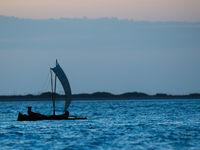Un pêcheur en pleine action. © Billy Herman