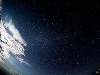 Un superbe ciel étoilé photographié avec le fisheye. © Billy Herman