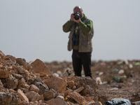 Een roodstuittapuit laat zich mooi bekijken nabij Tagdilt. © Billy Herman