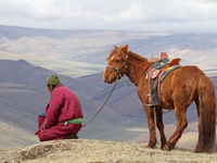 Paysages typiques de Mongolie © Maarten Jacobs