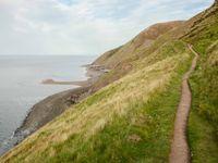 De steile kust is de thuishaven van tal van zeevogels. © Hans Debruyne