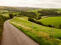 Zicht op het platteland te Exmoor. © Hans Debruyne