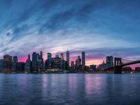 Een zicht op de skyline. © Thierry Vanhuysse