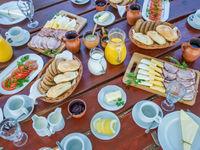 Quelle superbe table dressée pour nous