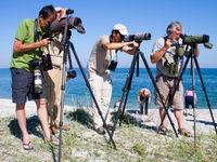 Een groepsfoto aan de oevers van de Zwarte Zee. © STARLING reizen