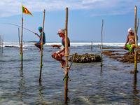 Sfeerbeeld van de vissers. © Rudi Debruyne