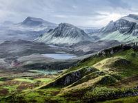 Het woeste landschap van Schotland... © Thierry Vanhuysse