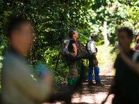 Pauzeren in het regenwoud. © Billy Herman