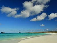 Wauw! Hagelwitte stranden! © Yves Adams