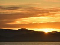 Goudgele zonsondergangen. © Yves Adams