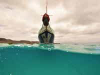 Helderblauwe zee! © Yves Adams