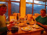 Un délicieux repas dans les montagnes © Johannes Jansen