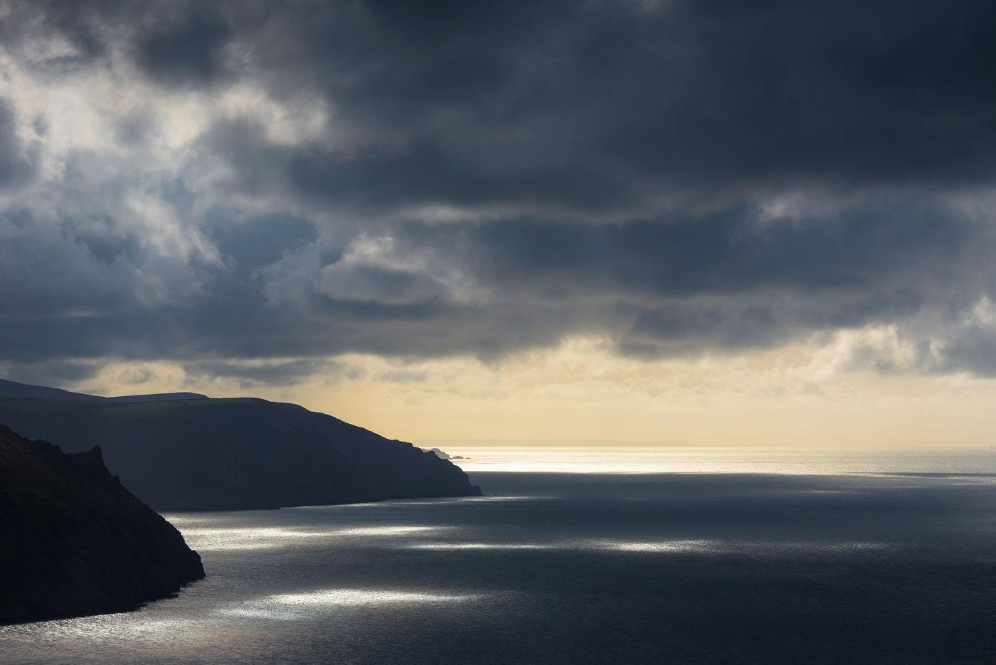 Zicht op het westen vanop Foreland Point. © Sandy Spaenhoven