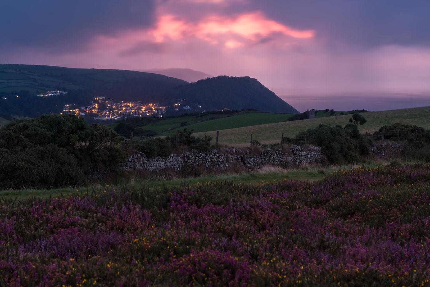 Zicht op Lynmouth. © Sandy Spaenhoven