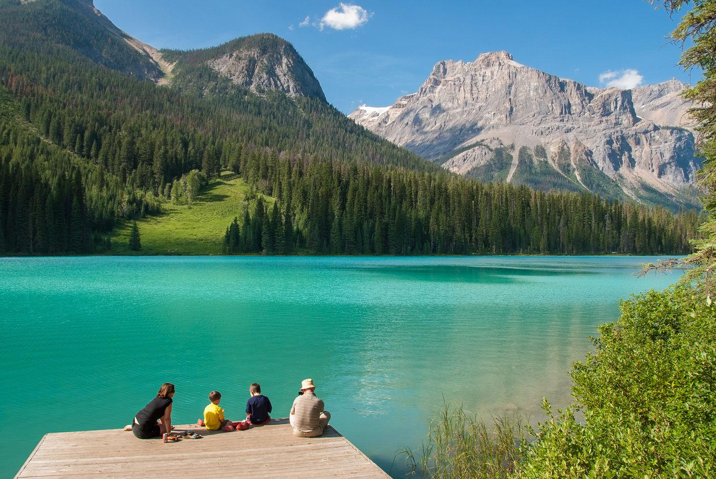 Emerald Lake, Canada. © Jeffrey Van Daele