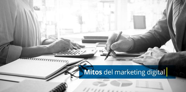 Los mitos del Marketing Digital - Galanés agencia de comunicación