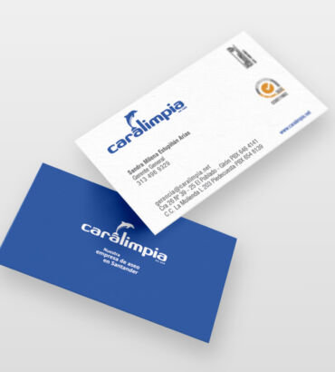 Caralimpia Identidad Corporativa por Galanés Agencia de Comunicación
