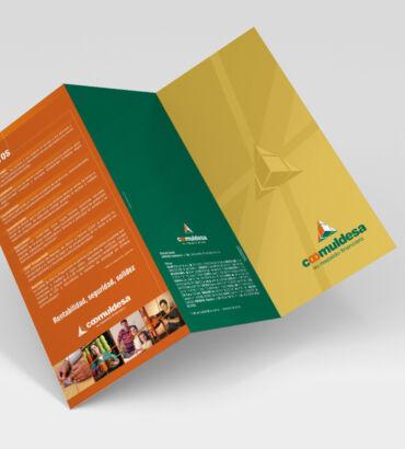 Coomuldesa Diseño de aplicaciones de marca por Galanés Agencia de Comunicación