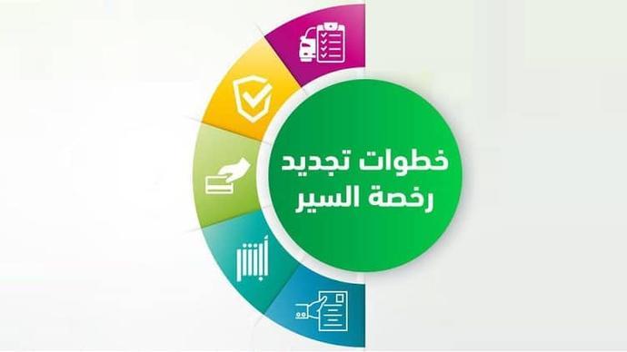 غرامة تأخير تجديد رخصة القيادة في السعودية