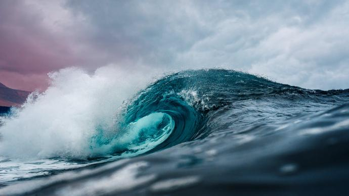 طبيعة المجتمعات الحيوية في الفوهات الحارة في اعماق البحار