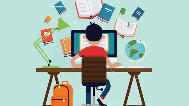 خبر صحفي عن التعليم  - كراسة